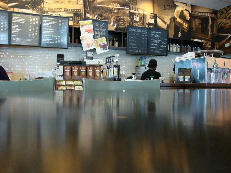 kawiarnia od wewnątrz