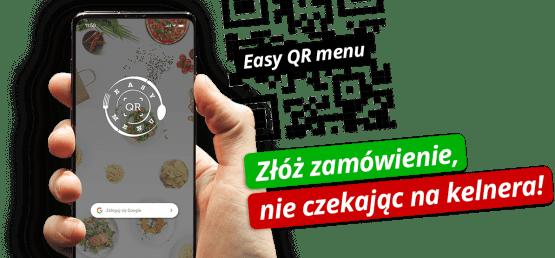 Czy znasz już EasyQR Menu?
